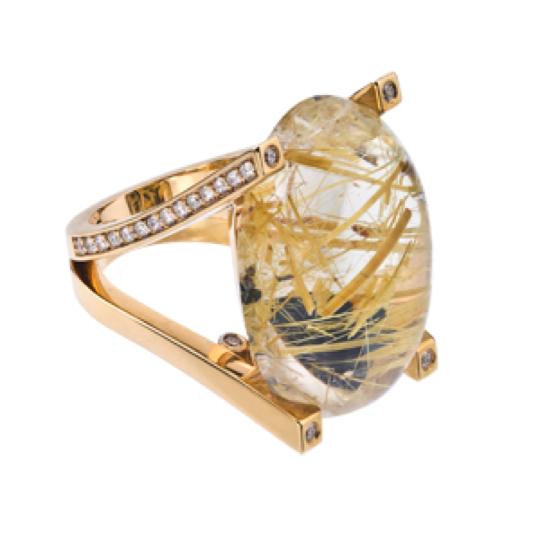 Hot jewelry trend golden rutilated quartz david perry for Golden rutilated quartz jewelry